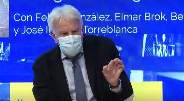 Archivo - El expresidente del Gobierno Felipe González.