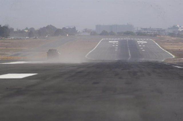 Aerouperto Internacional de La Aurora, en Guatemala