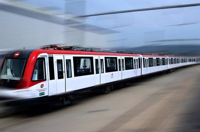 Archivo - Tren que Alstom suministrará al metro de Guadalajara (México)