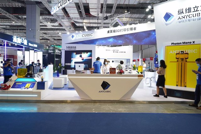 Anycubic attended the TCT Asia on May, 26, Shanghai