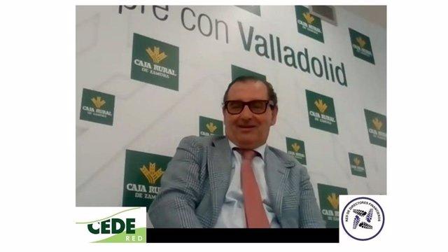 Narciso Prieto, Dir. Comunicación y RRII de Caja Rural de Zamora