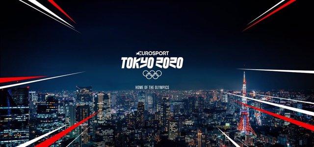 Careta de Eurosport para los Juegos Olímpicos de Tokio