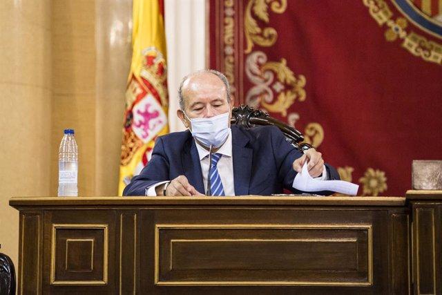 Arxiu - El ministre de Justícia, Juan Carlos Campo.