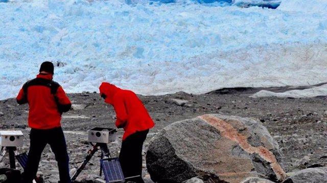 Trabajos de esta investigación en Groenlandia