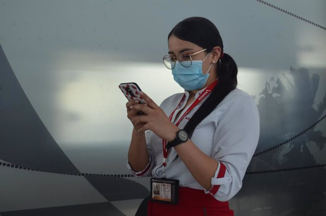 Archivo - Avianca se alía con Iata para lanzar una aplicación de gestión de pruebas Covid para viajes internacionales