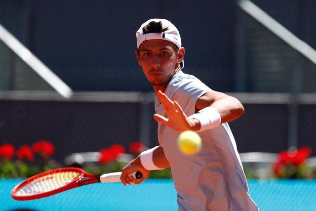 Alexei Popyrin en el Mutua Madrid Open