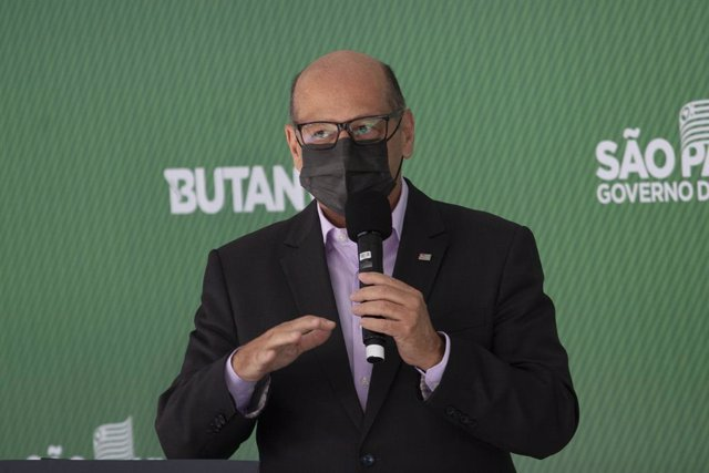 El director del Instituto Butantan, Dimas Covas.