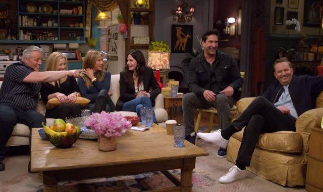 Imagen de la reunión de Friends
