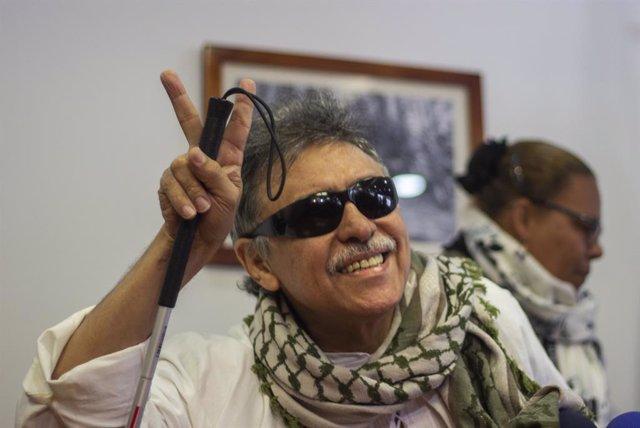 El disidente de las FARC, Seuxis Hernandez, alias 'Jesús Santrich'.