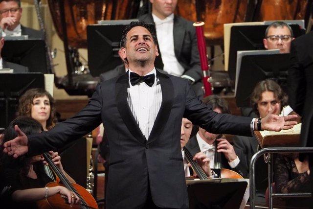 Archivo - El tenor Juan Diego Flórez