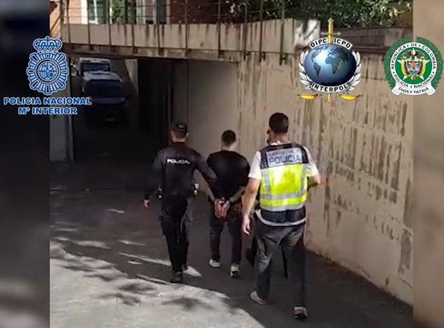 Detenido en Madrid un sicario colimbiano acusado de 100 homicidios