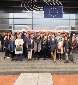 Investigadores participantes en el proyecto europeo TackSHS
