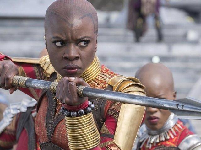 Danai Gurira volverá a ser Okoye en la serie de Black Panther de Disney+