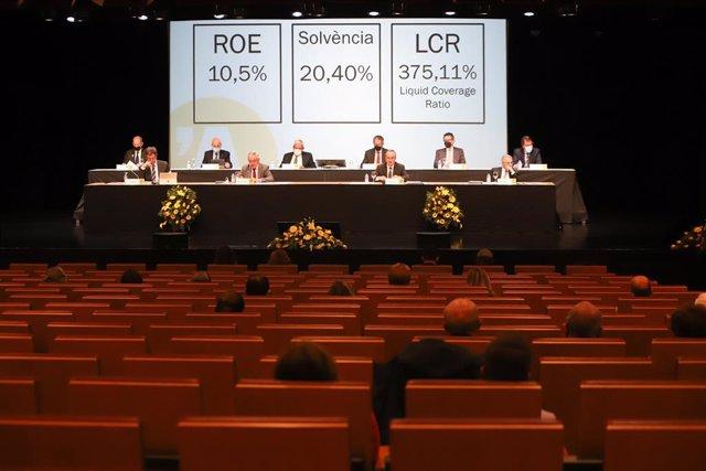 La Junta General d'Accionistes de BancSabadell d'Andorra, que s'ha celebrat aquest divendres.