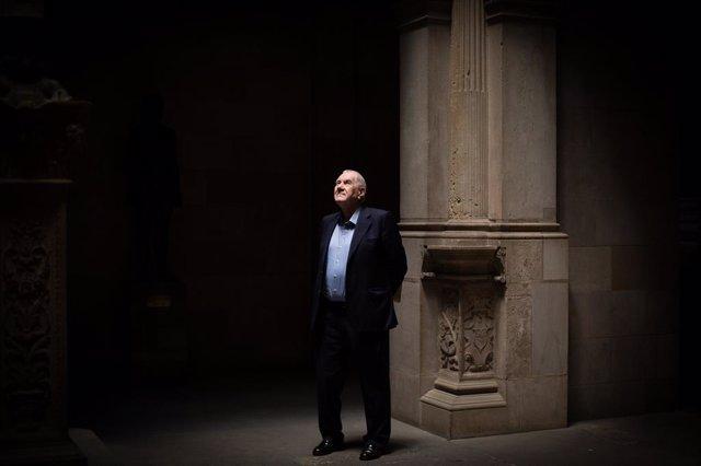 El president d'ERC a Barcelona, Ernest Maragall, a l'Ajuntament.