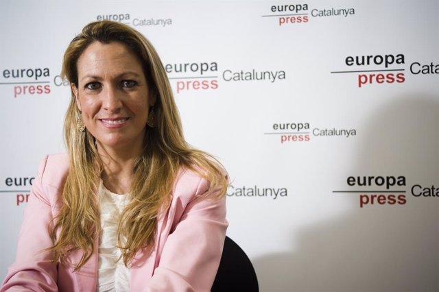Archivo - Arxivo - La degana durant l'entrevista