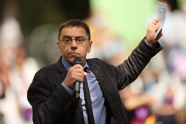 El politòleg i cofundador de Podem Juan Carlos Moneder