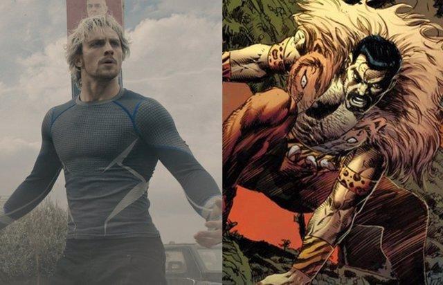 Así luce Aaron Taylor-Johnson como Kraven el Cazador en el spin-off de Spider-Man