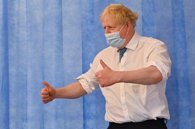 El primer ministo británico, Boris Johnson