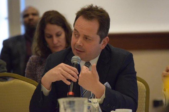 Archivo - El jefe de la Misión de Verificación de las Naciones Unidas en Colombia, Carlos Ruiz Massieu