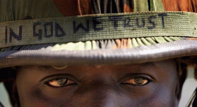 Archivo - Militar del Ejército de Nigeria