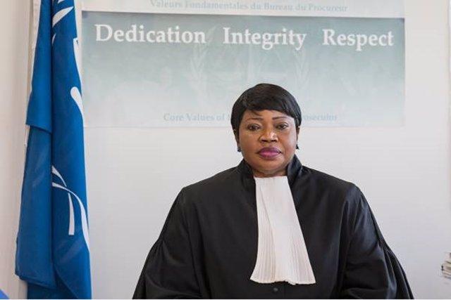 Archivo - La fiscal jefe del TPI, Fatou Bensouda
