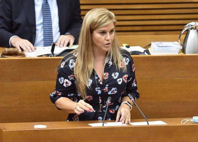 Archivo - La secretaria general del PPCV, Eva Ortiz,