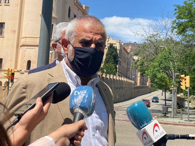 El líder de Cs a Catalunya, Carlos Carrizosa