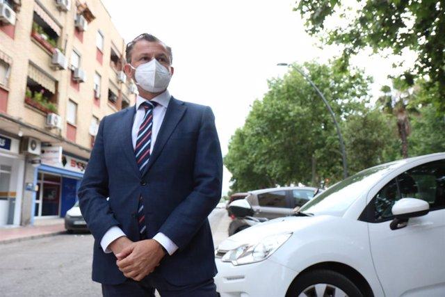 Archivo - El teniente de alcalde y delegado de Infraestructuras, Medio Ambiente y Sostenibilidad del Ayuntamiento de Córdoba, David Dorado.