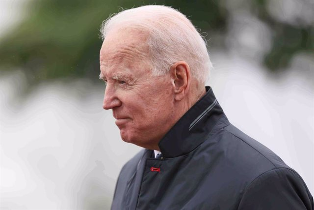30 May 2021, US, New Castle: USPresident Joe Biden takes part in a Memorial Day event at Veterans Memorial Park. Photo: Saquan Stimpson/ZUMA Wire/dpa