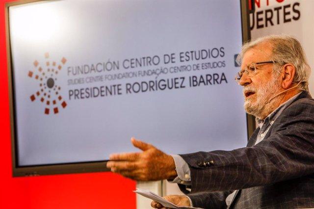 Arxiu - L'expresident de la Junta d'Extremadura Juan Carlos Rodríguez Ibarra.