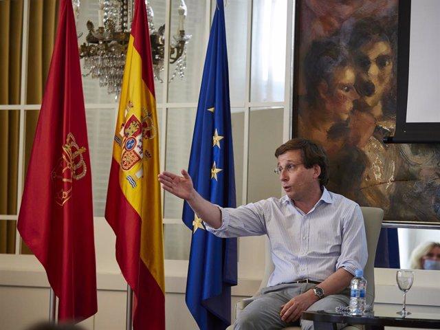 L'alcalde de Madrid i portaveu nacional del PP, José Luis Martínez-Almeida.