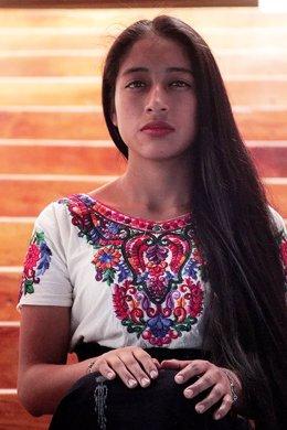 La actriz María Mercedes Coroy.