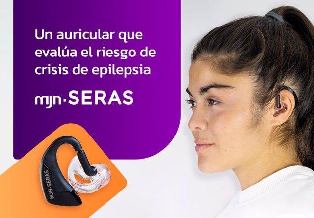 Un auricular que evalúa el riesgo de crisis de epilepsia