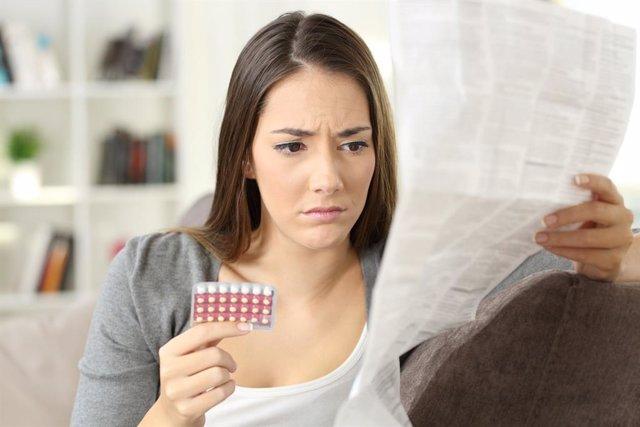 Archivo - Píldora anticonceptiva