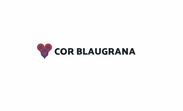 Archivo - Logo de la plataforma de socios del FC Barcelona 'Cor Blaugrana'