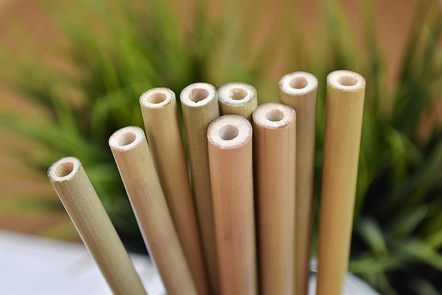 Archivo - Pajitas de bambu de Packawin