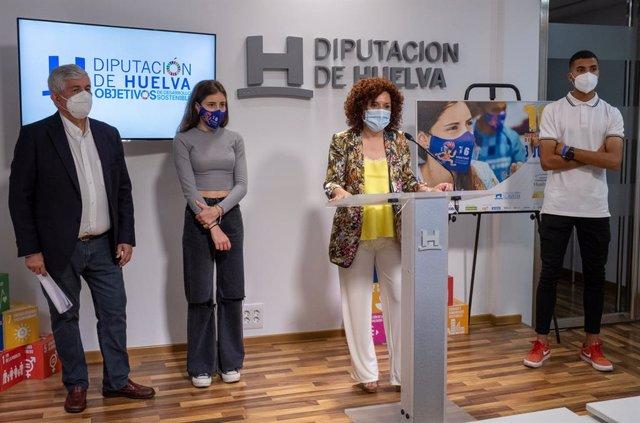La presidenta de la Diputación, María Eugenia Limón, presenta la 16º edición del Meeting Iberoamericano.