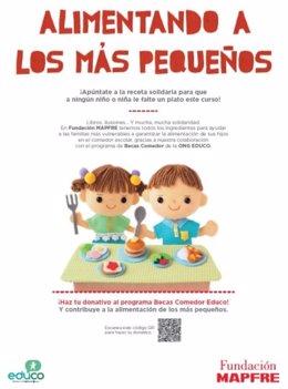 Fundación Mapfre lanza la campaña 'Alimentando a los más pequeños'