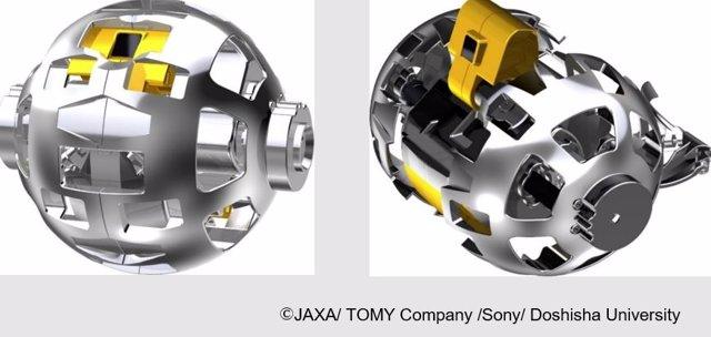 Aspecto del transformer que Japón planea enviar a la Luna el año que viene