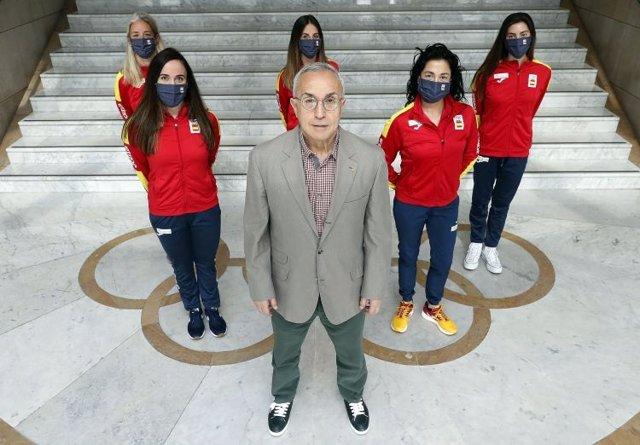 Alejandro Blanco clausura la iniciativa Todos Olímpicos del COE.