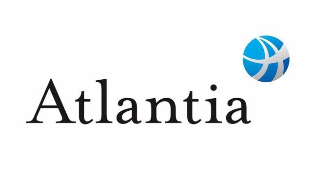 Archivo - Logo de la empresa italiana Atlantia.