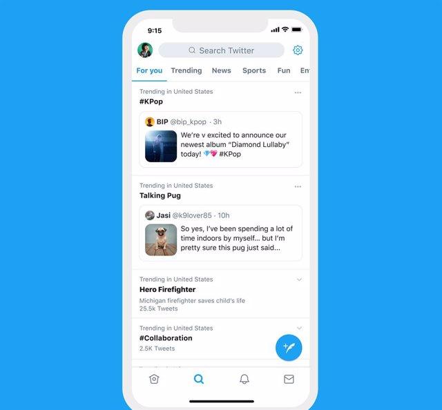 Recurso publicaciones en Twitter