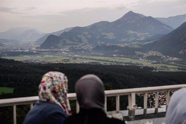 Mujeres musulmanas en Austria