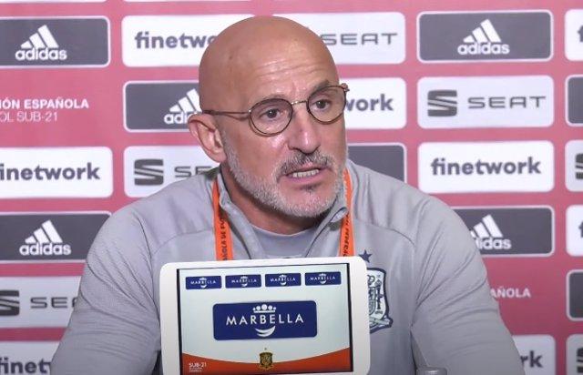 Archivo - Luis de la Fuente, seleccionador español Sub-21