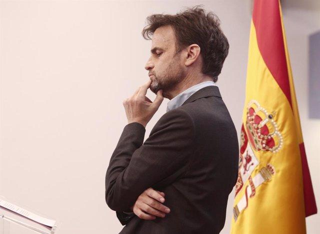 Archivo - Arxiu - El president del grup parlamentari d'Unides Podem al Congrés, Jaume Asens.
