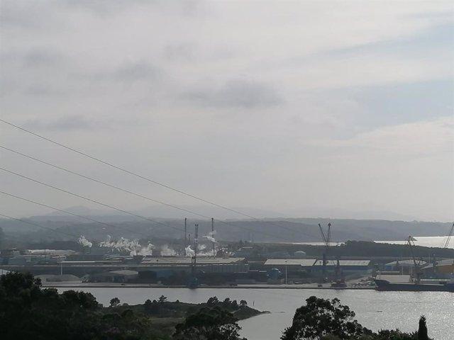 Ría de Avilés, contaminación