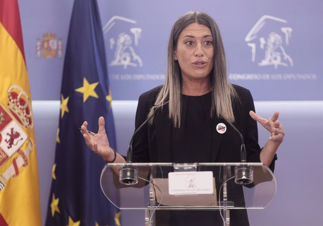 Arxiu - La portaveu de Junts per Catalunya, Miriam Nogueras.