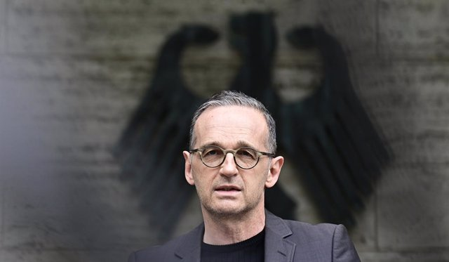 28 May 2021, Berlin: German Foreign Minister Heiko Maas speaks during a press conference on the genocide in Namibia. More than 100 years after the crimes committed by the German colonial power in what is now Namibia, the Federal Government recognises the