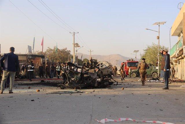 Archivo - Atentado en Kabul